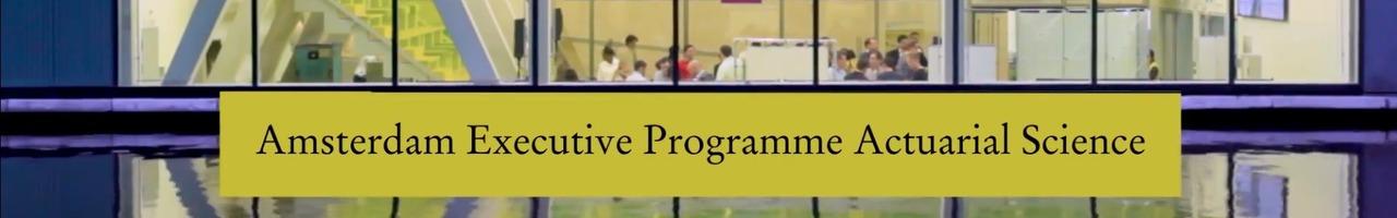 Amsterdam Business School - Amsterdam Executive Programme Actuarial Science (AEMAS)