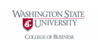 Logo Washington State University College of Business