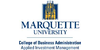 Logo Marquette University College of Business Administration