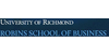 Logo University of Richmond Robins School of Business