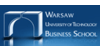 Logo Warsaw University of Technology Business School