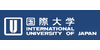 Logo International University of Japan, Graduate School of International Managment