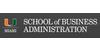 Logo University of Miami School of Business Administration