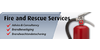Logo van Fire and Rescue Services