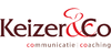 Logo van Keizer & Co, communicatie en coaching
