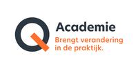Logo van Q-Academie, opleidingspartner voor de zorg