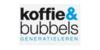 Logo van koffie & Bubbels