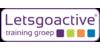 Logo van Letsgoactive training groep