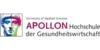 Logo von APOLLON Hochschule der Gesundheitswirtschaft GmbH