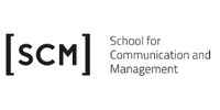 Logo von school for communication and management (scm)