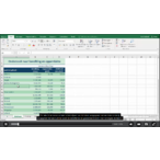 Thumbnail online cursus elearning excel 2016 basis 2