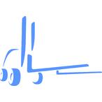 Thumbnail symbol blau gabelst