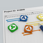 Square logo banner coursera it project management