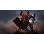 Thumbnail illustrating fantasy minotaur photoshop 1581 v1