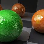 Square introduction rendering cinema 4d 365 v1
