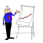 Thumbnail mann mit chart